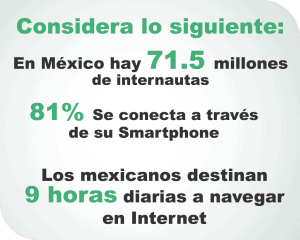 Internautas en México