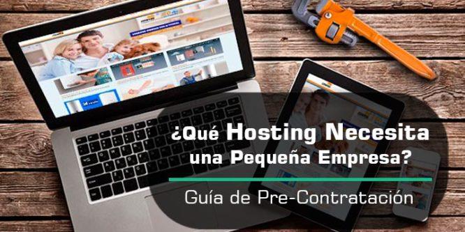 ¿Cuál es el Mejor Hosting para una Pequeña Empresa?| Guía de Pre-Contratación de Web Hosting