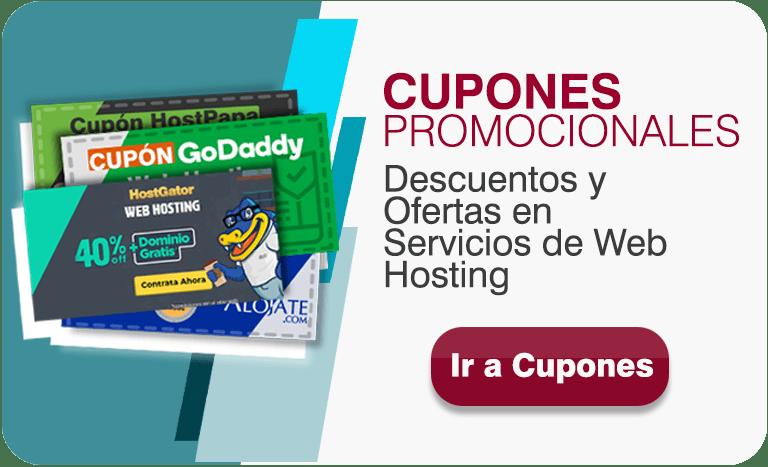 Cupones de Web Hosting