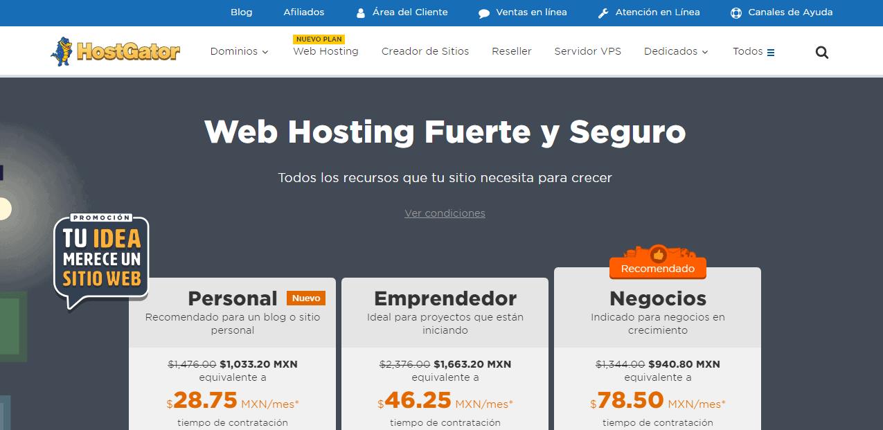 Hosting en México