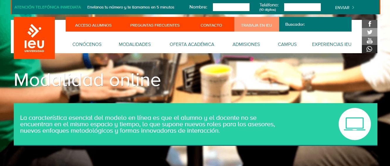 Página de Internet ejemplos