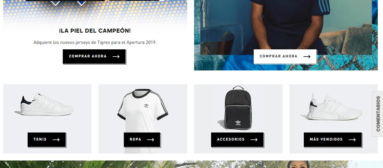 Tipo de tiendas en línea