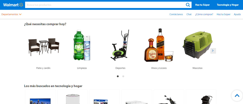 características de una pagina web